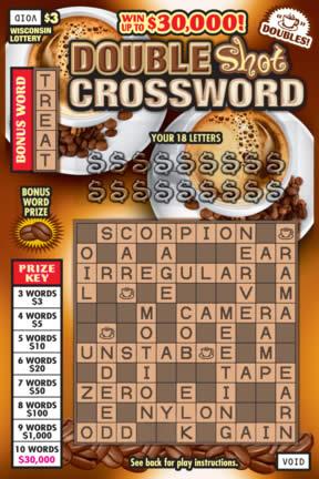 Double Shot Crossword