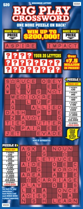 Big Play Crossword
