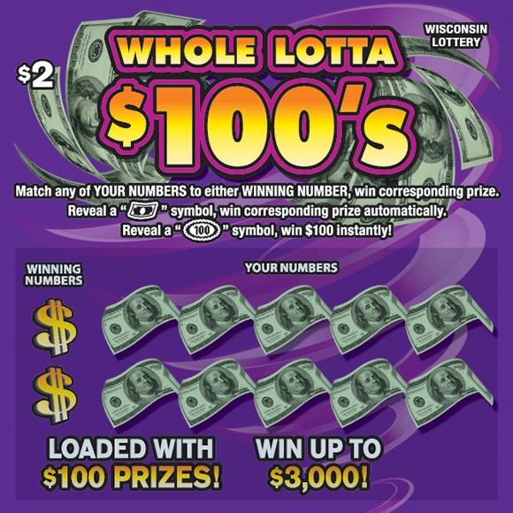 WHOLE LOTTA $100'S