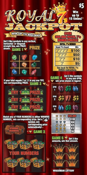 Royal 7's Jackpot