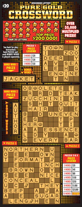 Pure Gold Crossword