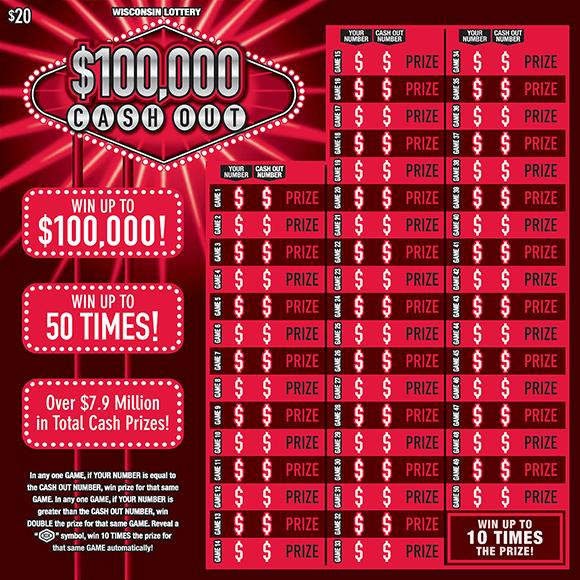 $100,000 CASH OUT