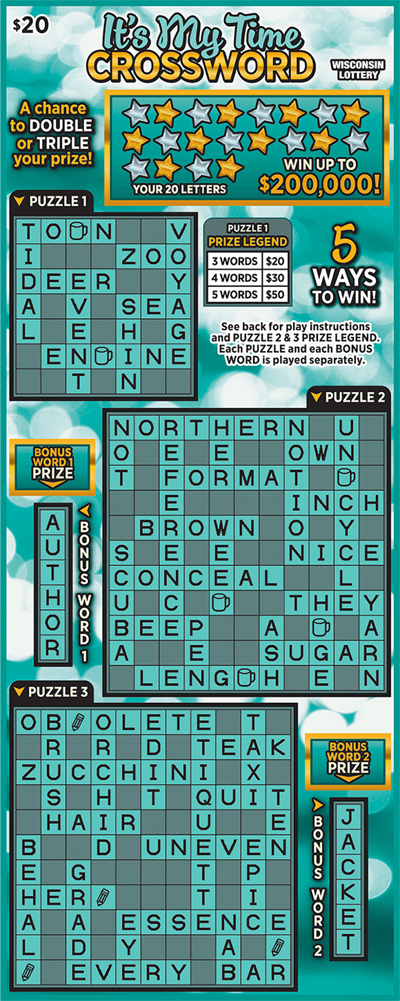 ITS MY TIME CROSSWORD