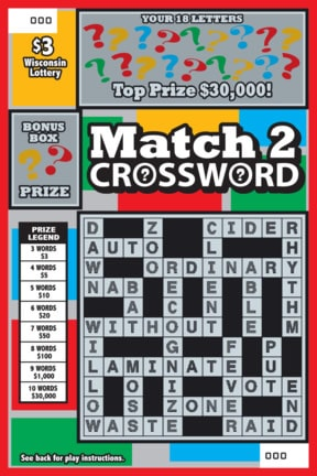 Match 2 Crossword