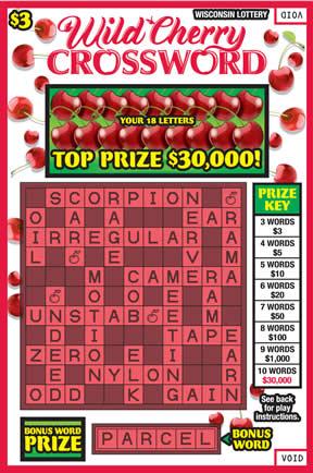 Wild Cherry Crossword