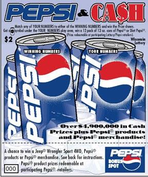 Pepsi & Cash
