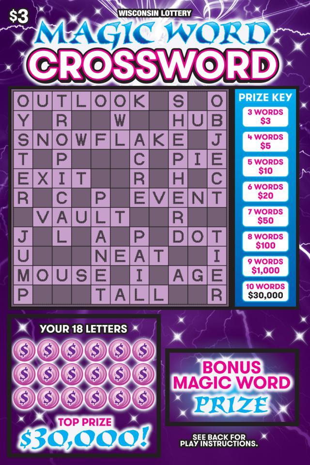 Magic Word Crossword