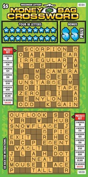 Money Bag Crossword