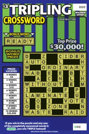 Tripling Crossword