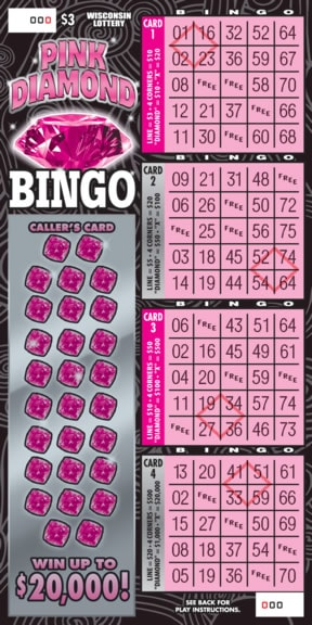 Pink Diamond Bingo
