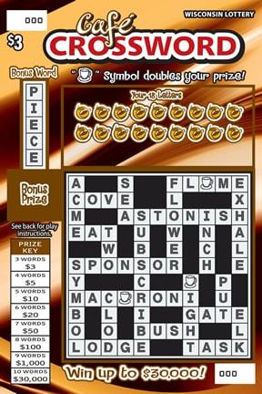 Cafe Crossword
