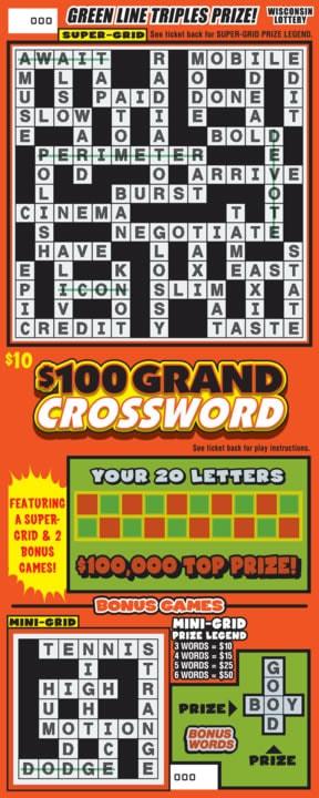 $100 Grand Crossword