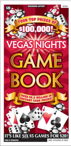 Vegas Nights Game Book