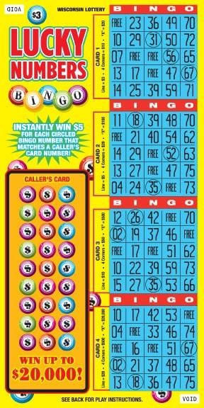 Lucky Numbers Bingo
