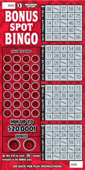 Bonus Spot Bingo