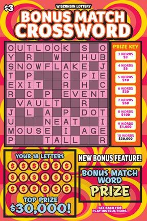 Bonus Match Crossword