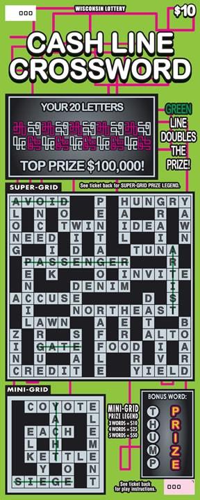 Cash Line Crossword