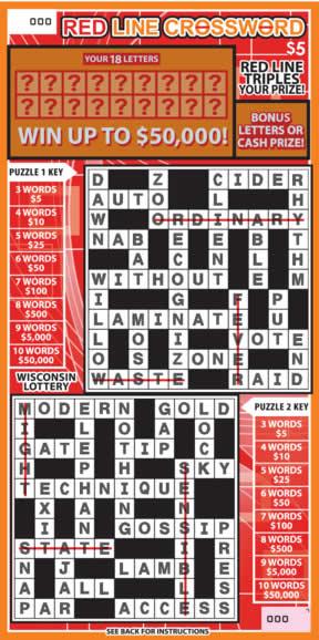 Red Line Crossword
