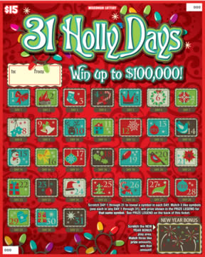 31 Holly Days