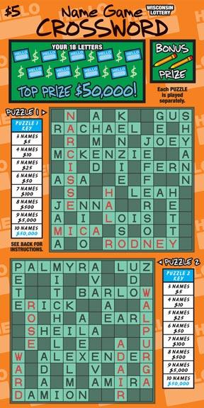 Name Game Crossword