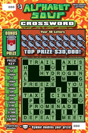 Alphabet Soup Crossword