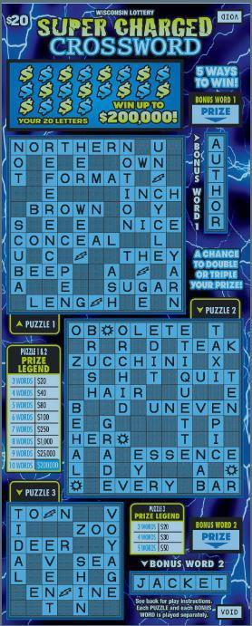 SUPER CHARGED CROSSWORD