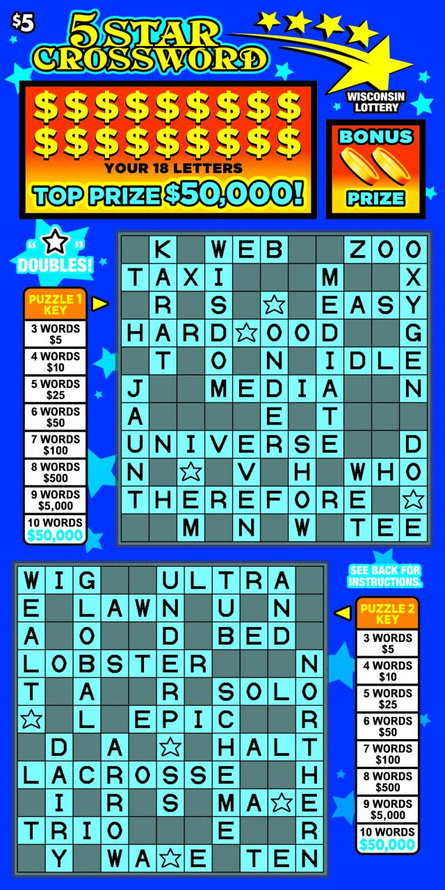 5 Star Crossword