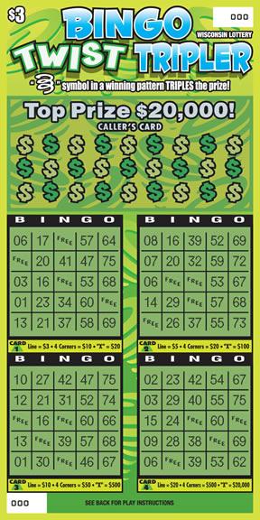 Bingo Twist Tripler