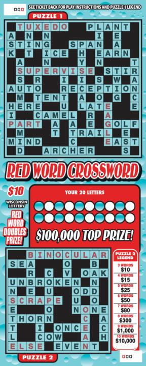 Red Word Crossword