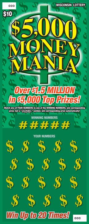 $5,000 Money Mania