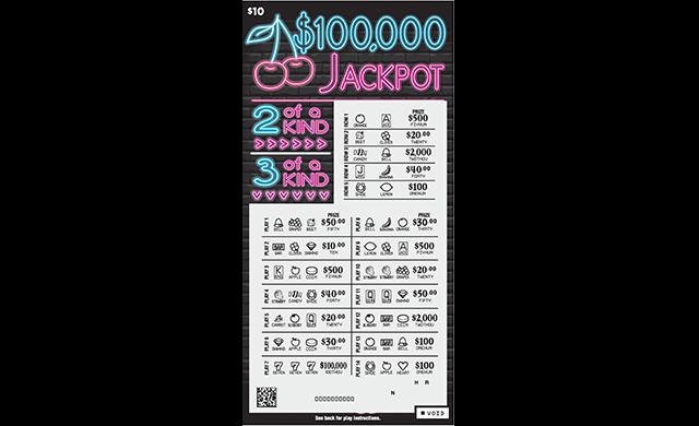 $100,000 JACKPOT
