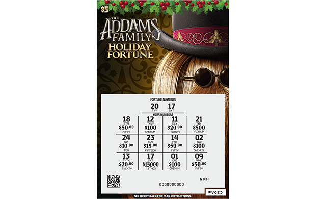 ADDAMS FAMILY® FORTUNE